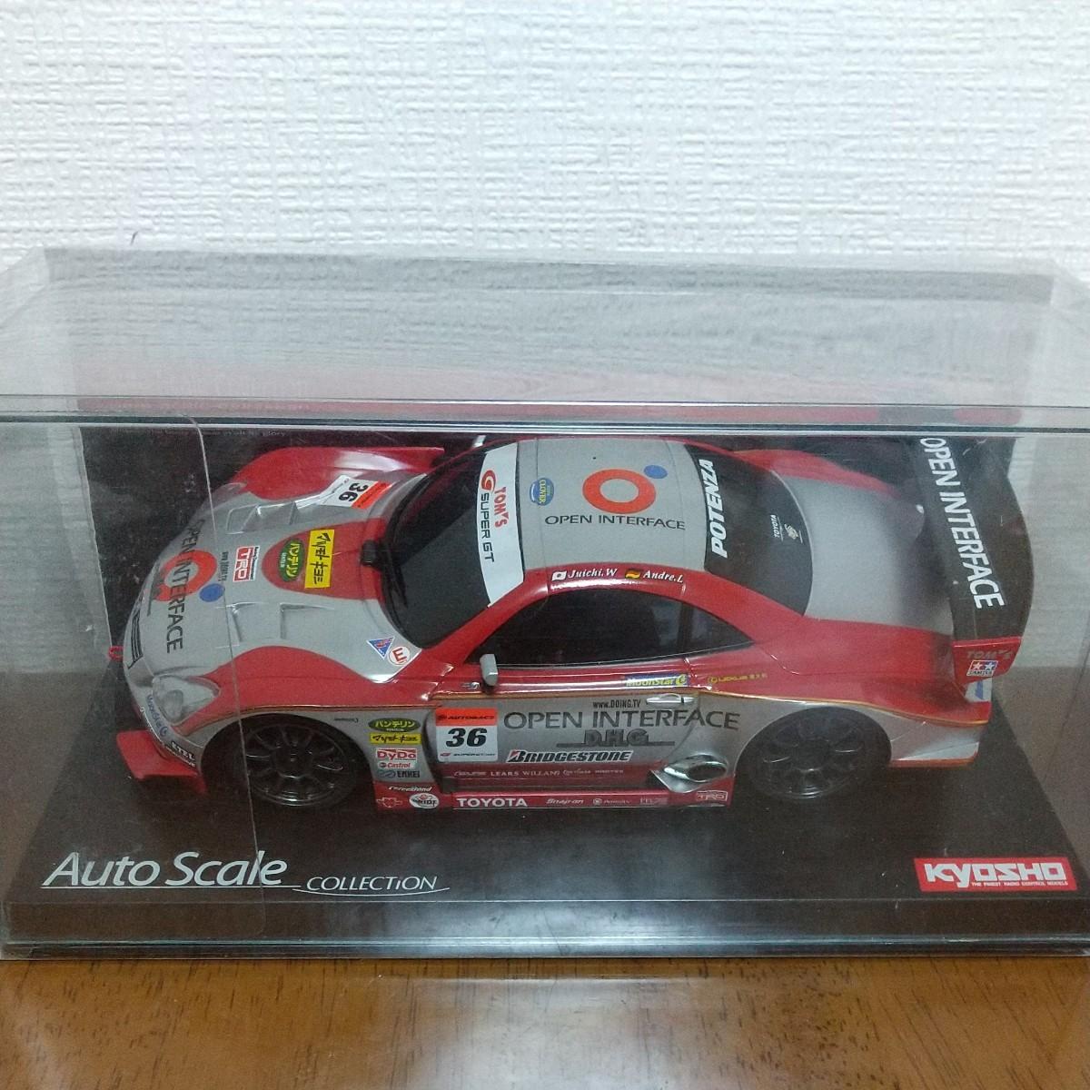 京商ミニッツ Auto SCALE COLLECTION オープンインターフェイス トムスSC430 2006