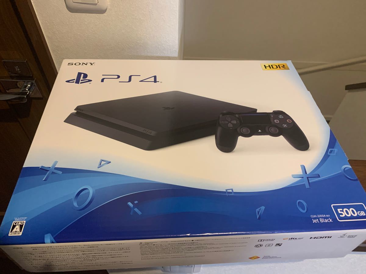 プレステ4 本体 新品未開封  PlayStation4