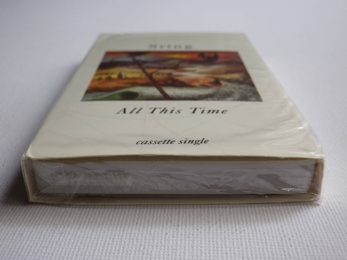 未開封 シングルカセット洋楽輸入盤 スティング STING「All This Time」Single輸入版 カセットテープ 未使用品_画像6