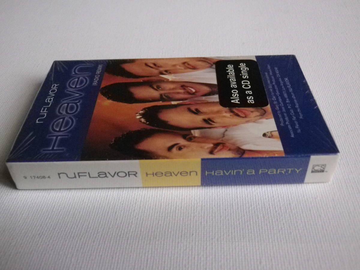 洋楽輸入盤未開封シングルカセット ニュー・フレイヴァー NU FLAVOR / Heaven 輸入版Single カセットテープ未使用品_画像4