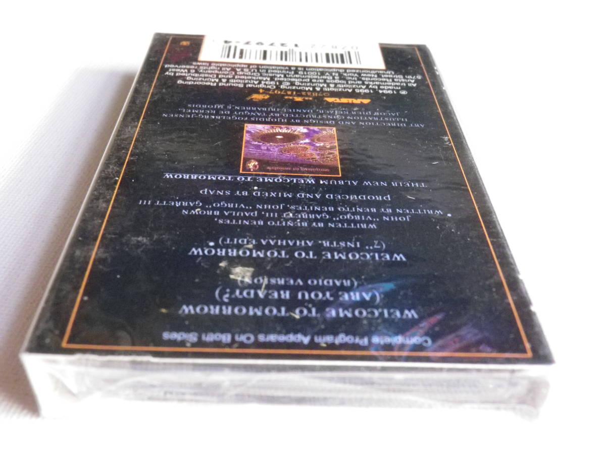 未開封洋楽輸入盤シングルカセットテープ SNAP 「Welcome To Tomorrow」輸入版Single 未使用品_画像6
