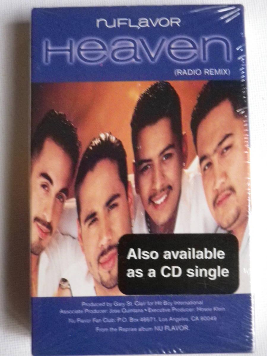 洋楽輸入盤未開封シングルカセット ニュー・フレイヴァー NU FLAVOR / Heaven 輸入版Single カセットテープ未使用品_画像2