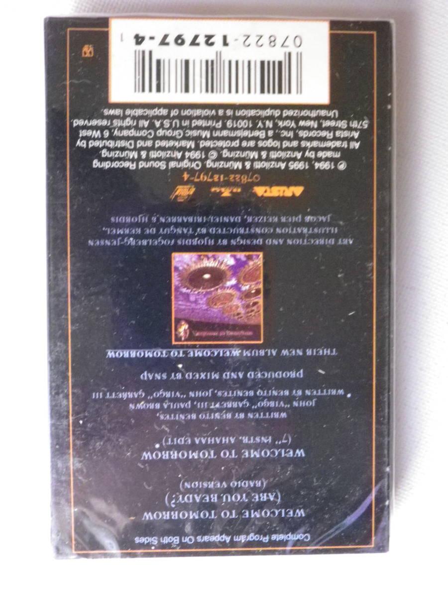 未開封洋楽輸入盤シングルカセットテープ SNAP 「Welcome To Tomorrow」輸入版Single 未使用品_画像3