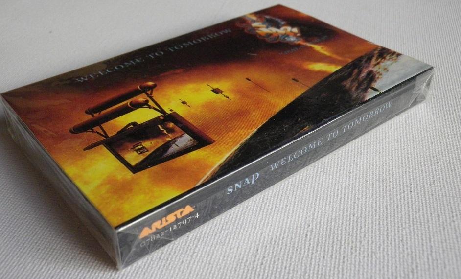 未開封洋楽輸入盤シングルカセットテープ SNAP 「Welcome To Tomorrow」輸入版Single 未使用品_画像1