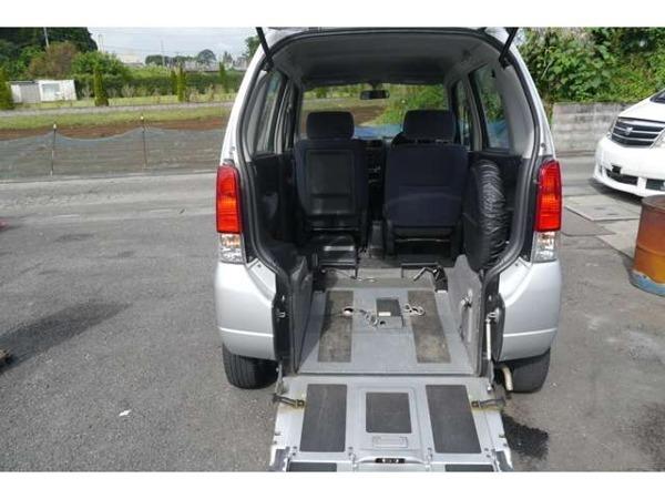 「ワゴンR スロープ福祉車いす車 スロープ車電動固定アルミキーレス」の画像2