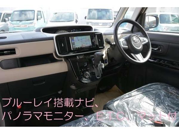 「ムーヴキャンバス 660 G ブラックインテリア リミテッド SAIII 2ト-ン色ブル-レイ搭載ナビパノラマモニタ-」の画像3