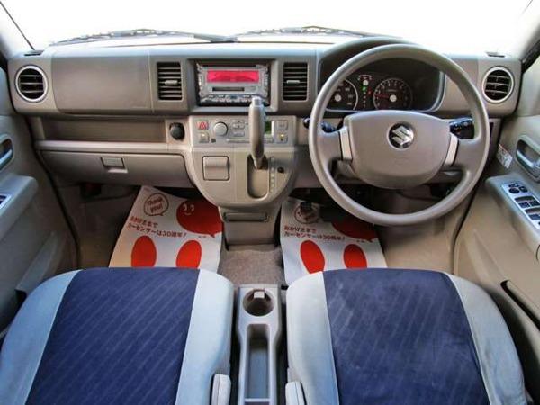 「エブリイワゴン 660 PZターボ 左パワースライドドア ABS付 (検/2年込)」の画像3