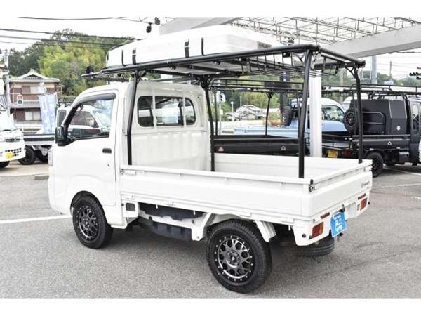 ハイゼットトラック 660 スタンダード 3方開 4WD アウトドア仕様 5MT 4WD MLJアルミ_今流行りの軽トラックでソロキャンプに!