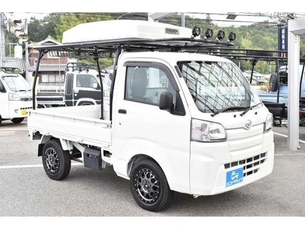 「ハイゼットトラック 660 スタンダード 3方開 4WD アウトドア仕様 5MT 4WD MLJアルミ」の画像2