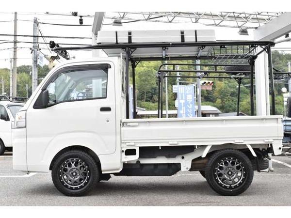 ハイゼットトラック 660 スタンダード 3方開 4WD アウトドア仕様 5MT 4WD MLJアルミ_画像7