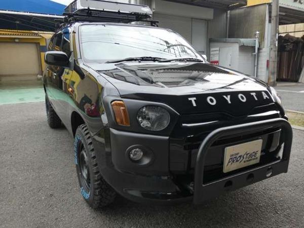「サクシードバン 1.5 TX 4WD カスタム リフトアップ ヘッドテールカバ」の画像3