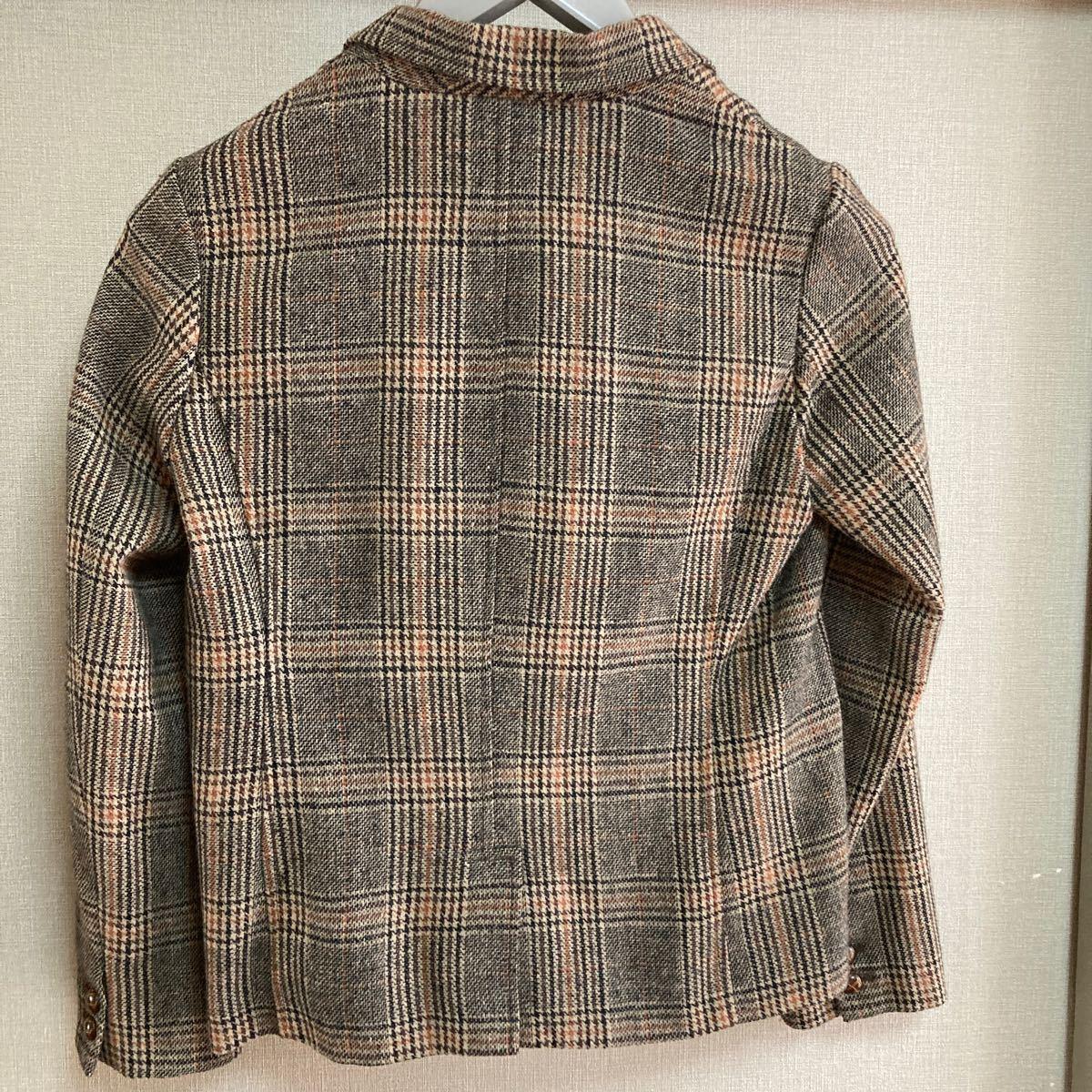 テーラードジャケット ツイードジャケット ウールジャケット
