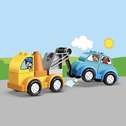 レゴ(LEGO) デュプロ はじめてのデュプロ レッカー車 10883 知育玩具 ブロック おもちゃ 男の子 車_画像3