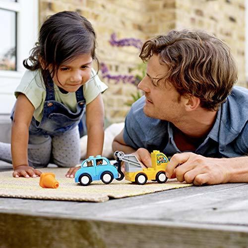 レゴ(LEGO) デュプロ はじめてのデュプロ レッカー車 10883 知育玩具 ブロック おもちゃ 男の子 車_画像6