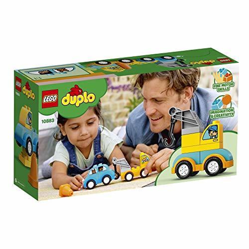 レゴ(LEGO) デュプロ はじめてのデュプロ レッカー車 10883 知育玩具 ブロック おもちゃ 男の子 車_画像8