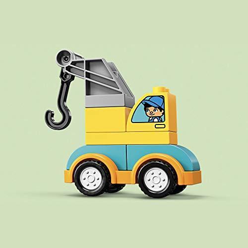 レゴ(LEGO) デュプロ はじめてのデュプロ レッカー車 10883 知育玩具 ブロック おもちゃ 男の子 車_画像5