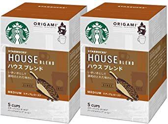 スターバックス オリガミ パーソナルドリップコーヒー ハウスブレンド 5袋×2個_画像1