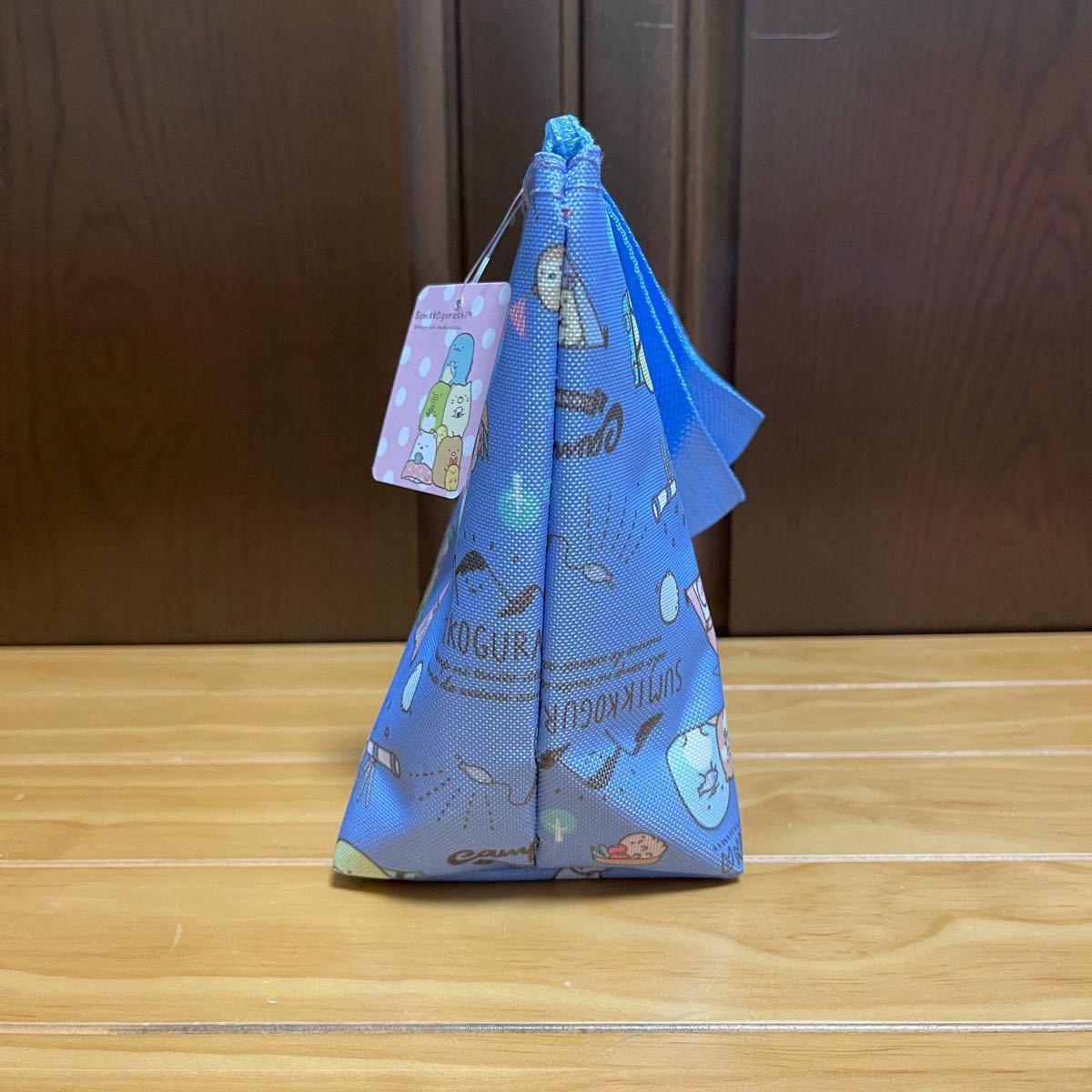 【すみっコぐらし】保冷ランチトートバッグ(ブルー)