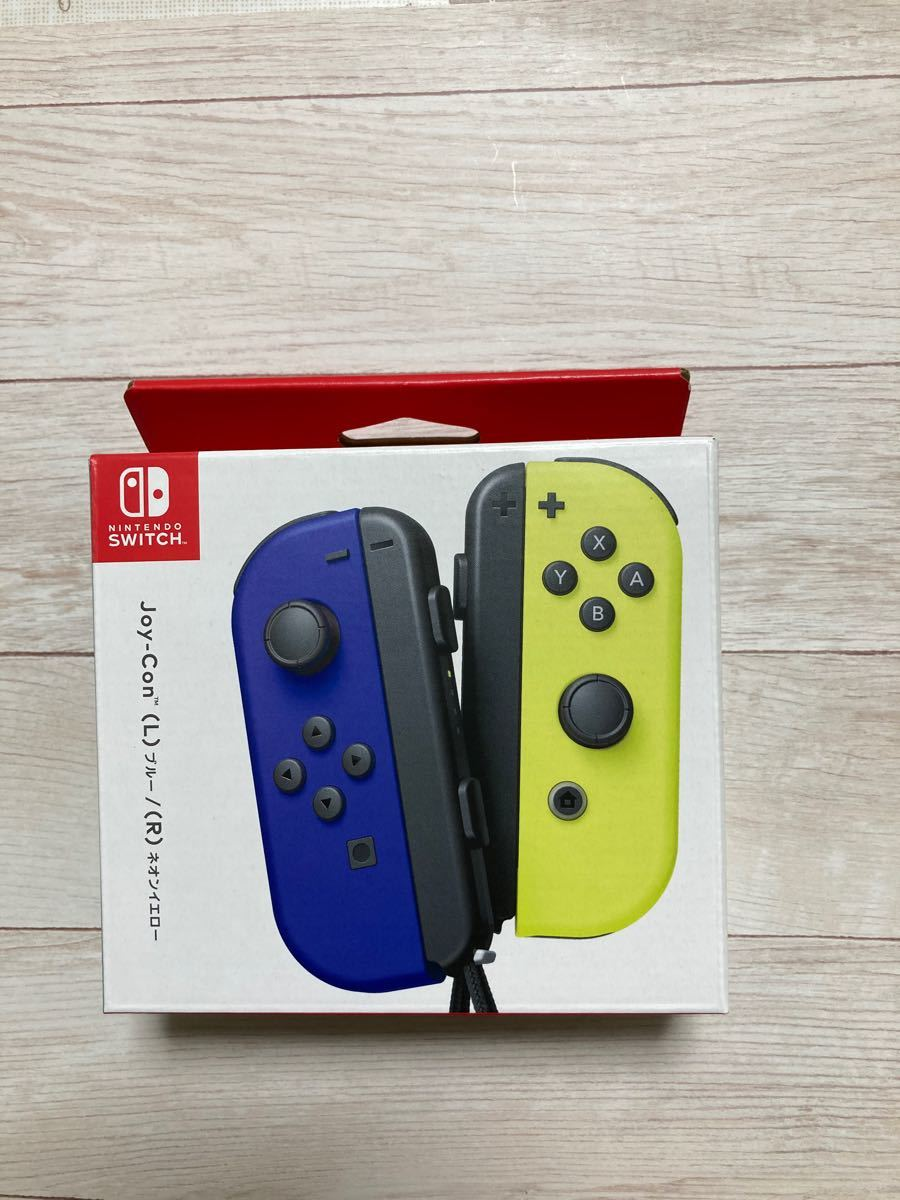 Nintendo Switch Joy-Con  ジョイコン ブルー ネオンイエロー