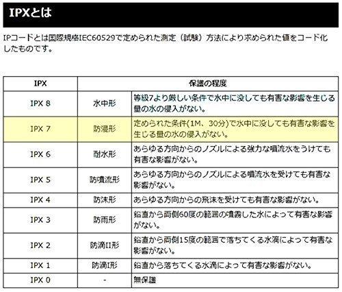 新品シルバー(銀) IPX7級防水 バイク オートバイ 自転車 用 アナログ 時計 夜光 日本語 説明書 付き1YS5_画像4