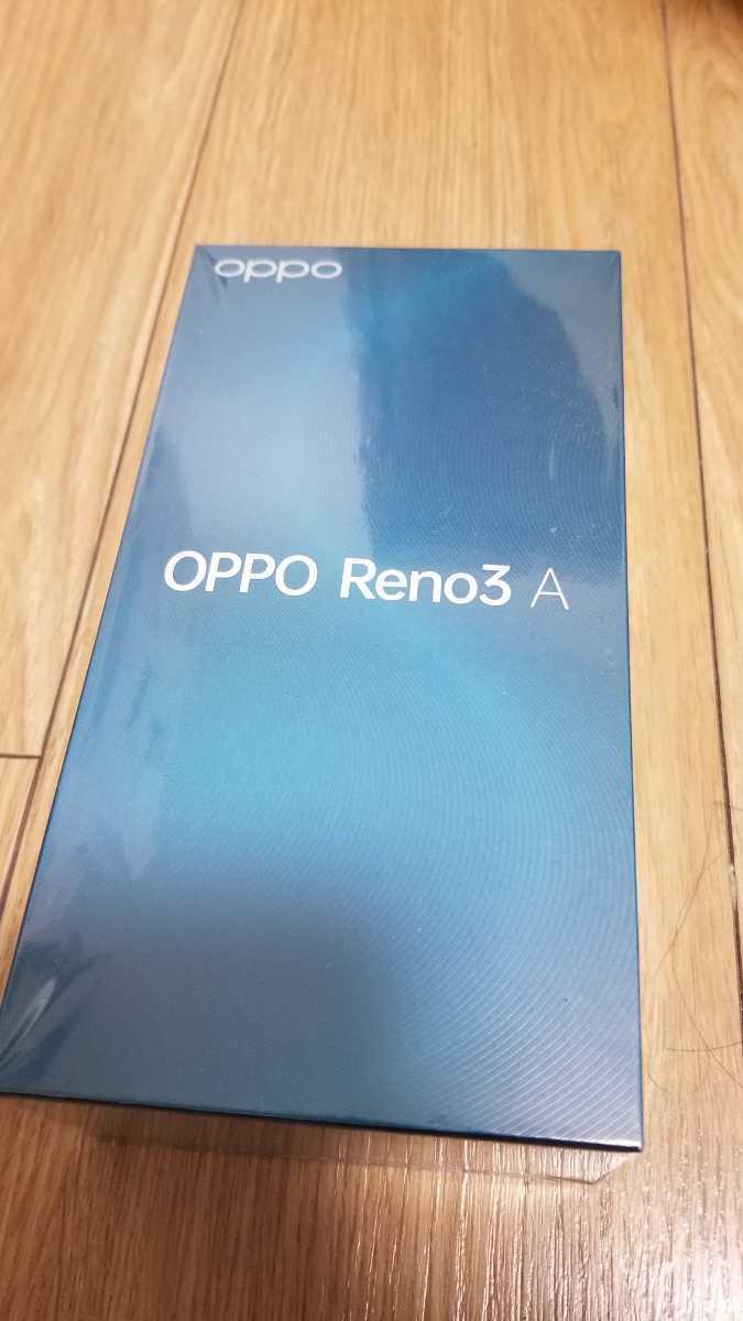 新品未使用品 OPPO オッポ Reno3 A ブラック 6GB RAM/128GB ROM/SIMフリースマートフォ