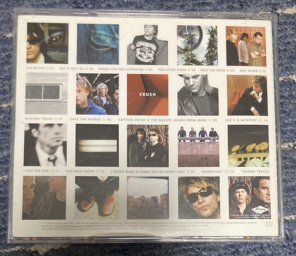CDアルバム BON JOVI / CRUSH 帯付き