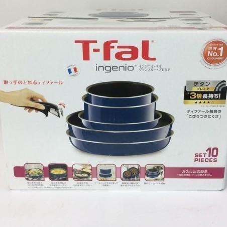 T-fal ティファール インジニオネオグランブルー セット10