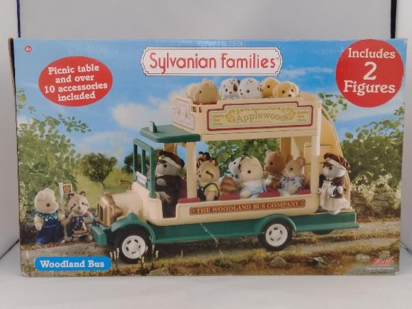 現状品 シルバニアファミリー 海外版 Woodland Bus_画像1