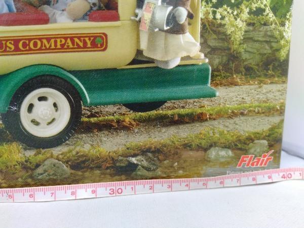 現状品 シルバニアファミリー 海外版 Woodland Bus_画像2