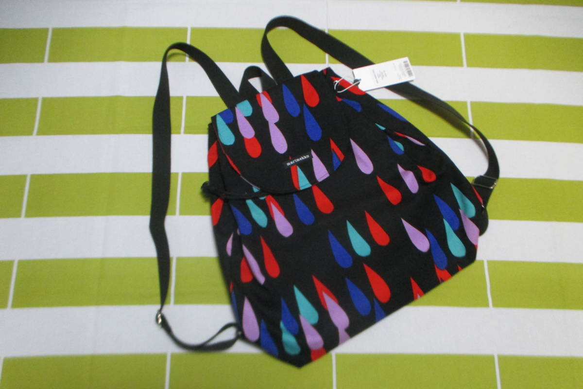 Marimekko PISAROI / Pisaroi Rucksack ◇ Canvas Fabric BACK PACK YS16