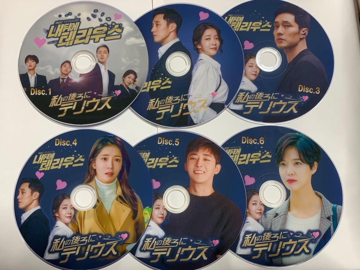 ☆韓国ドラマ☆『私の後ろにテリウス』 DVD 6枚 全20話  ☆ (吹替ナシ)