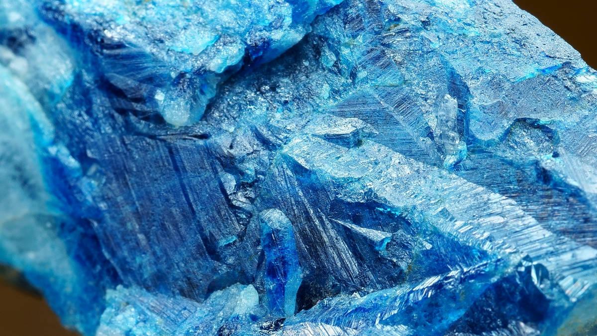 【コレクター放出品】ジンバブエ ラストホープ鉱山産 ユークレース 鉱物 標本 原石