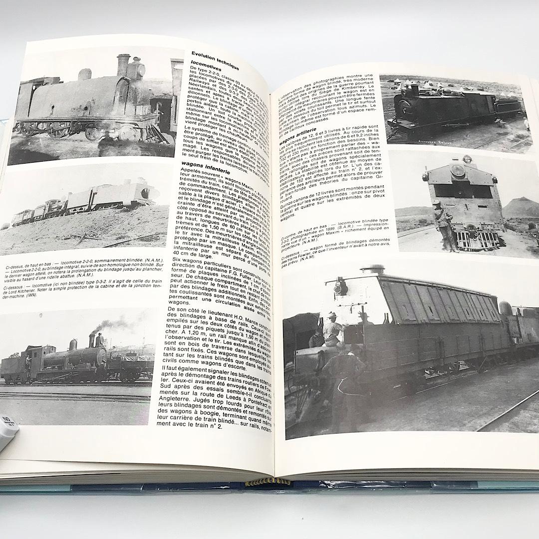 ★希少品★ 洋書 世界の装甲列車 1826-1989年 写真集 スケール図面 フランス_画像5