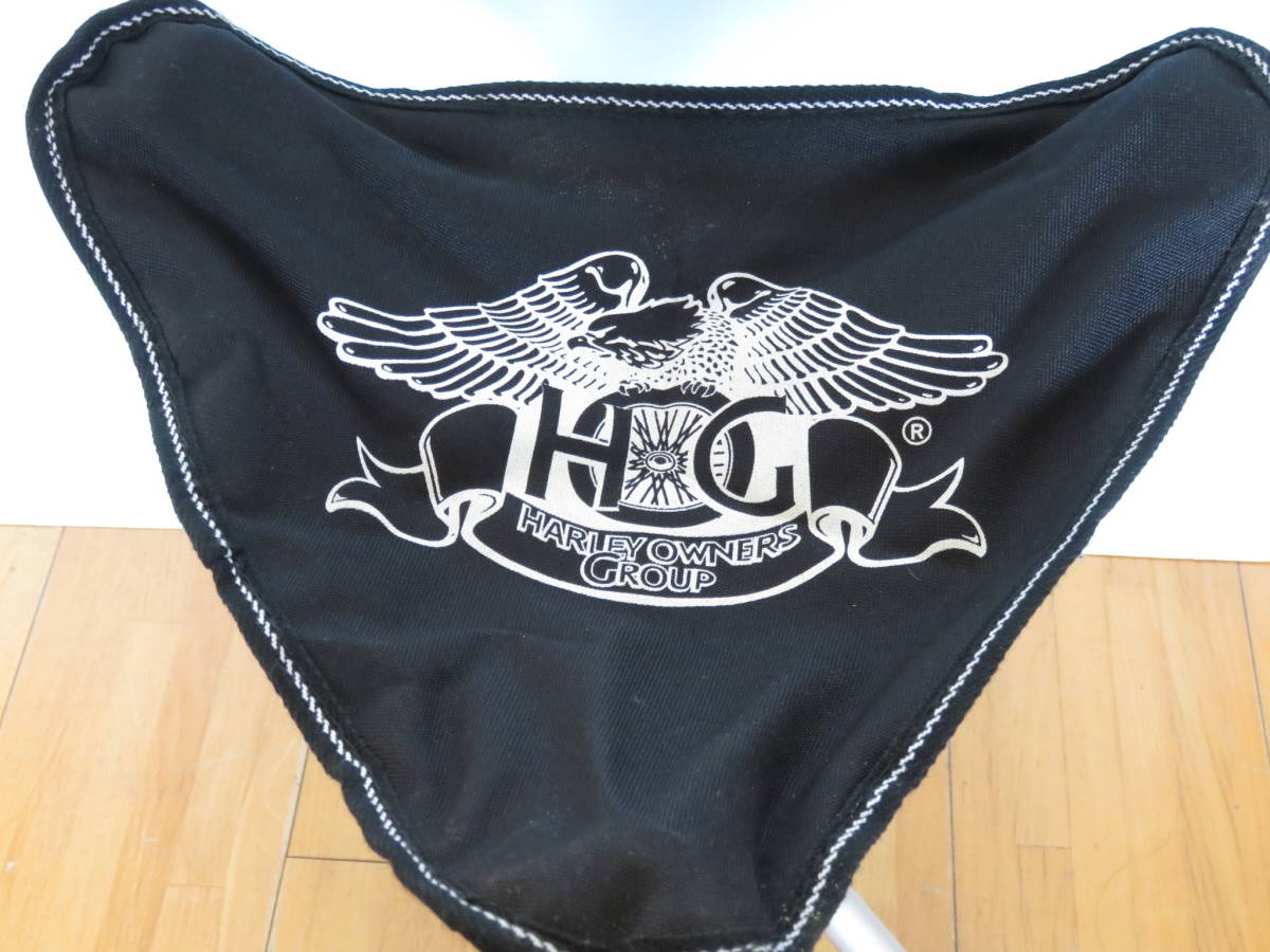 ■harley owners group ハーレー パイプチェア 椅子 チェア キャンプ アウトドア■