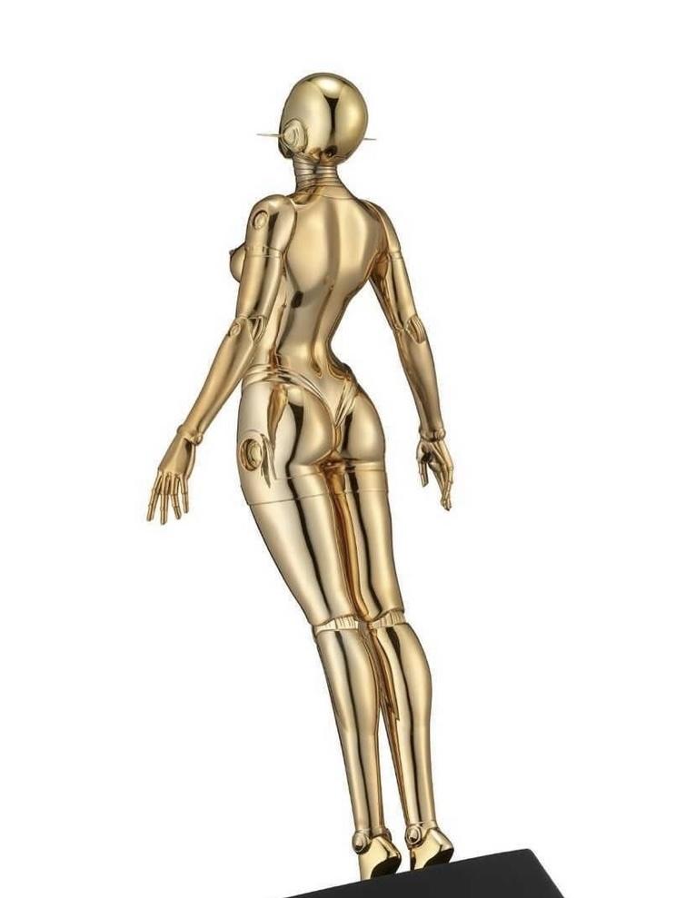 新品未開封☆ 空山基 Sexy Robot floating 1/4 scale Gold ver HAJIME SORAYAMA HAJIME 検 村上隆 KYNE 奈良美智 Kaws_画像3