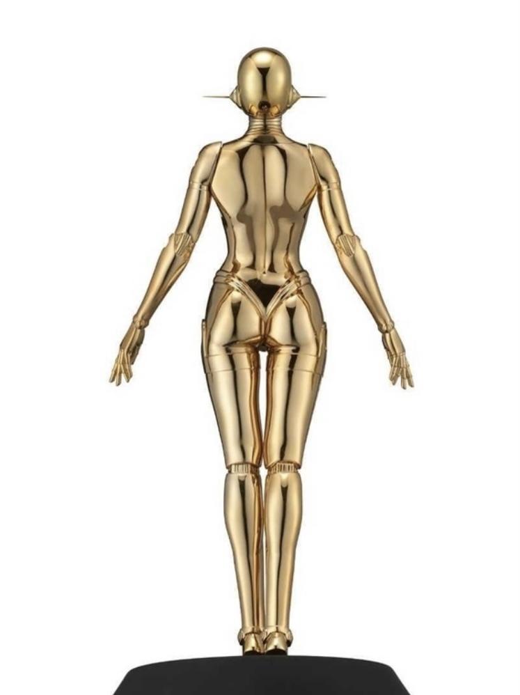 新品未開封☆ 空山基 Sexy Robot floating 1/4 scale Gold ver HAJIME SORAYAMA HAJIME 検 村上隆 KYNE 奈良美智 Kaws_画像2