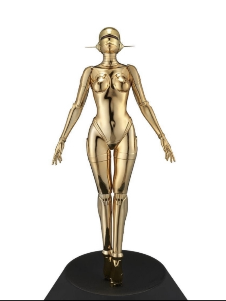 新品未開封☆ 空山基 Sexy Robot floating 1/4 scale Gold ver HAJIME SORAYAMA HAJIME 検 村上隆 KYNE 奈良美智 Kaws_画像1