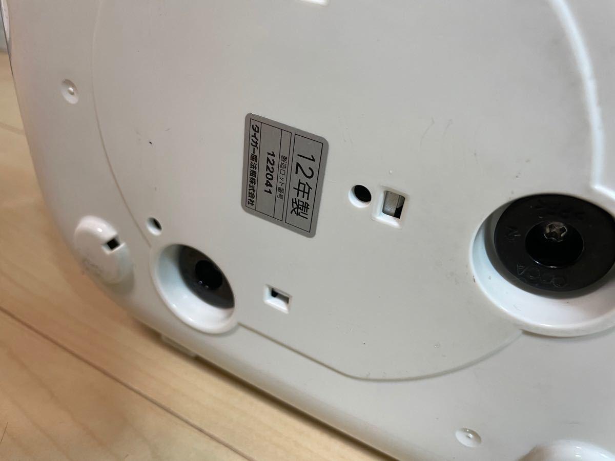 タイガー マイコン炊飯器 3合 ホワイト JBU-A550-W