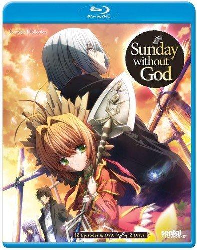 【送料込】神さまのいない日曜日 全12話+OVA (北米版 ブルーレイ) Sunday Without God blu-ray BD