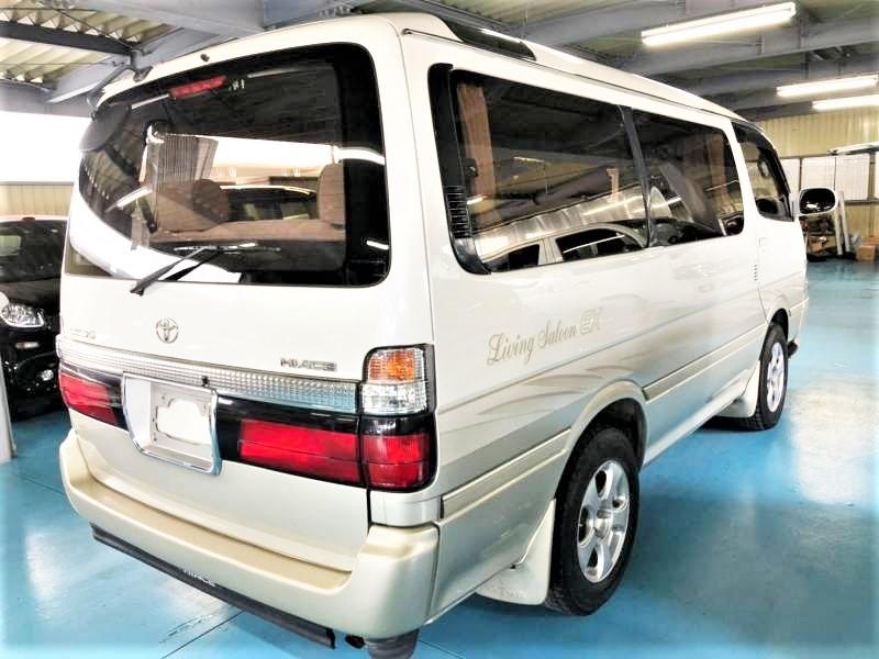 「H14 ハイエースワゴン スーパーカスタムG リビングサルーンEX 美車 ナビ・ETC・格安出品♪」の画像3