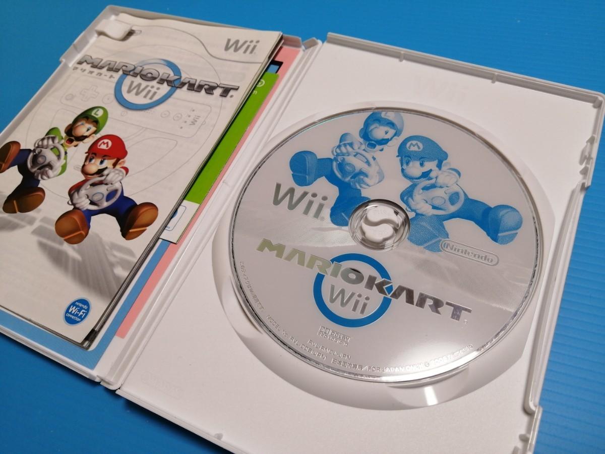 ニンテンドー Wiiマリオカート マリオカート Wii リモコン(シロ)2個 Wii ハンドル 2個