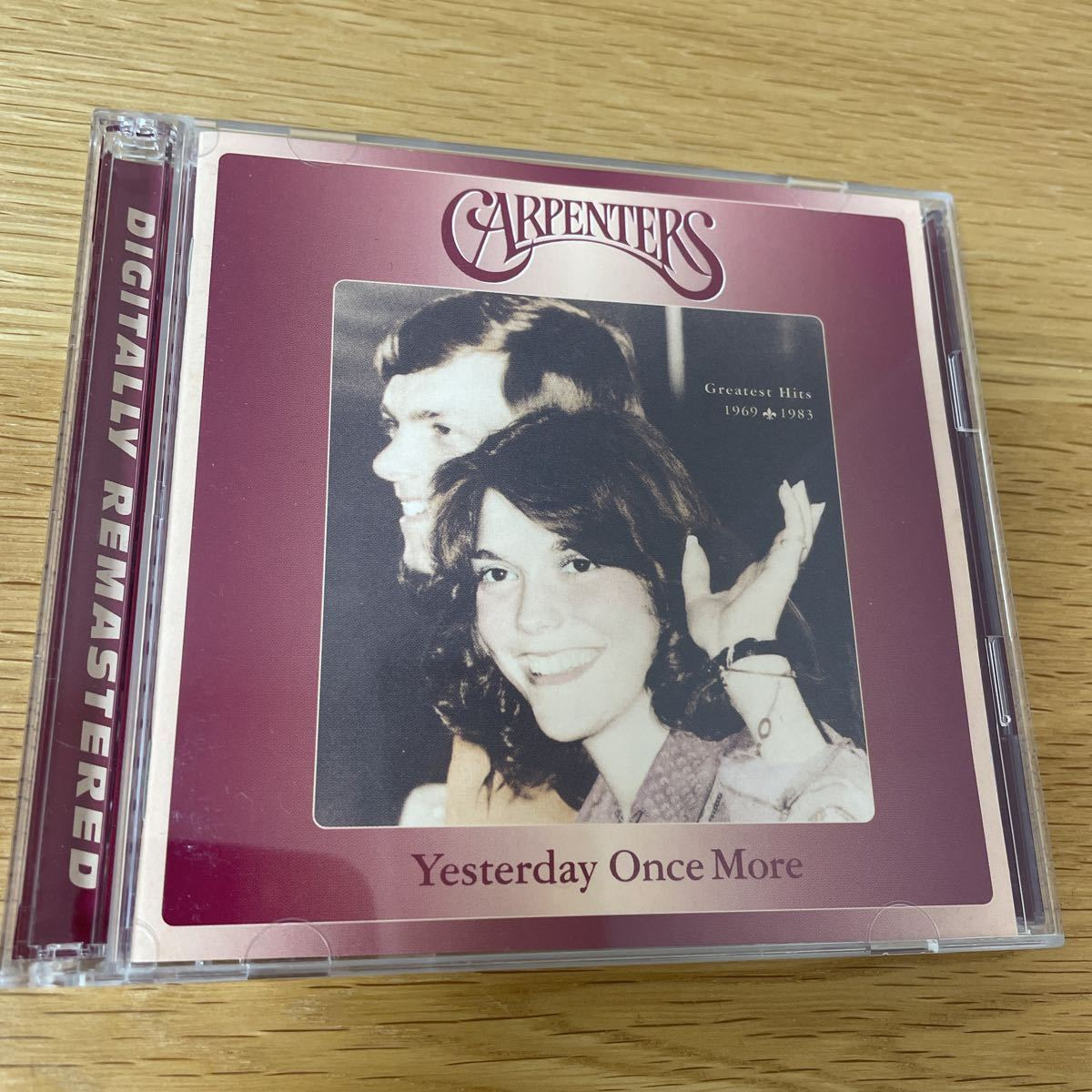 【2CD】CARPENTERS:Yesterday Once More/Digital Remastered [Greatest Hits1969-1983]:UICY-3246/7 《カーペンターズベスト盤》