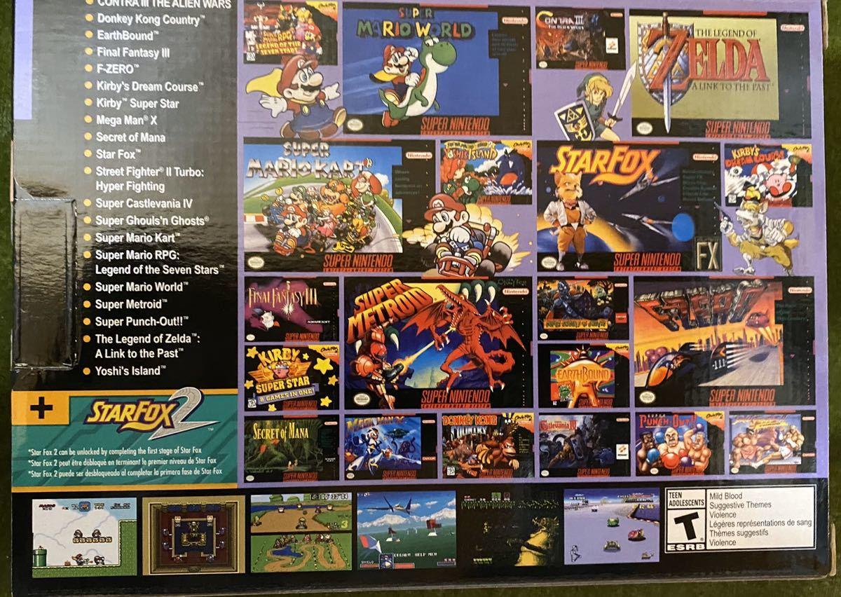 北米版 ニンテンドークラシックミニスーパーファミコン CLASSIC EDITION SNES