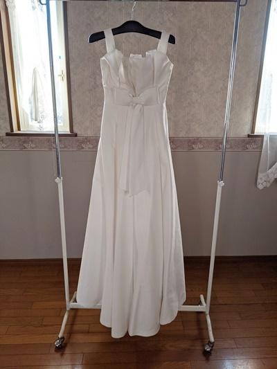 39 ウエディングドレス kiyoko HATA 結婚式 撮影 衣装 パーティードレス 素材 材