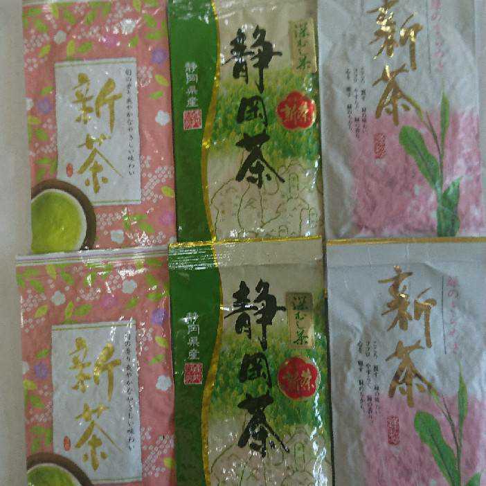 2020年度産 静岡県産 深蒸し茶 飲み比べ100g6袋 健康茶 日本茶 緑茶 静岡茶 お茶 健康茶_画像1