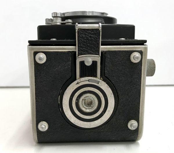 ROLLEIFLEX ローライフレックス COMPUR RAPID FRANKE & HEIDECKE 二眼レフカメラ ケース付 fah 4H568S_画像7