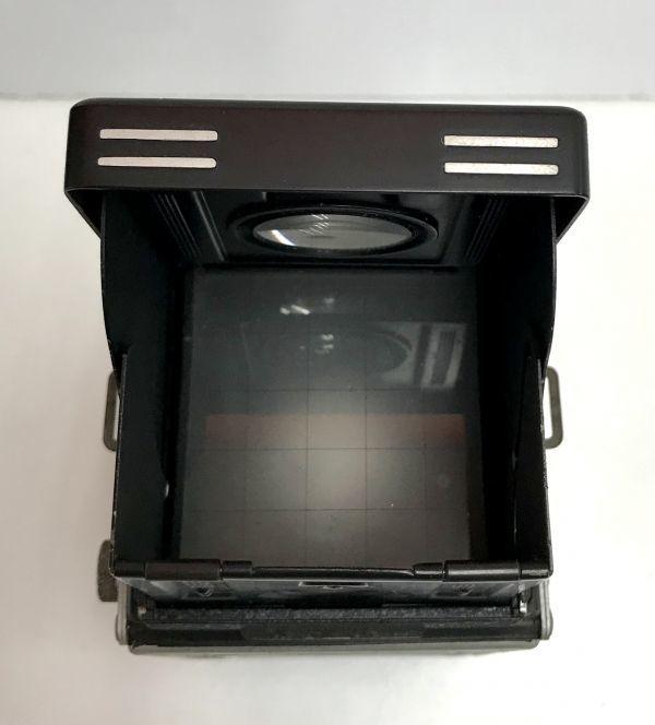 ROLLEIFLEX ローライフレックス COMPUR RAPID FRANKE & HEIDECKE 二眼レフカメラ ケース付 fah 4H568S_画像6