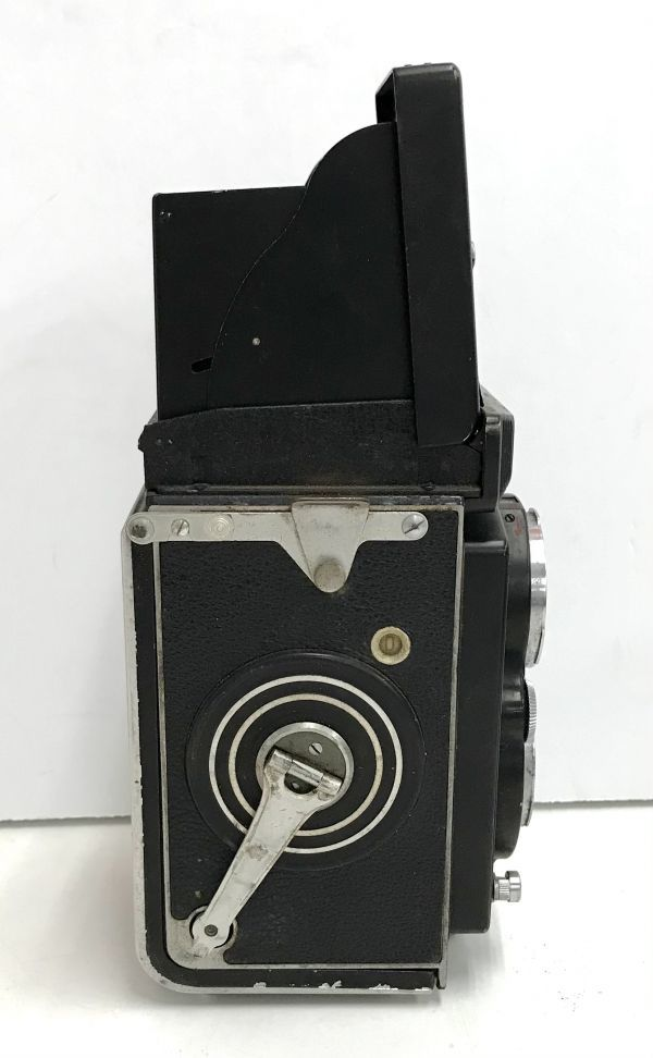 ROLLEIFLEX ローライフレックス COMPUR RAPID FRANKE & HEIDECKE 二眼レフカメラ ケース付 fah 4H568S_画像3
