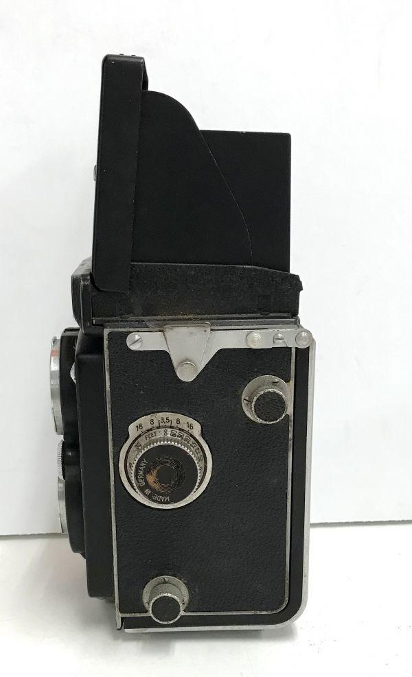 ROLLEIFLEX ローライフレックス COMPUR RAPID FRANKE & HEIDECKE 二眼レフカメラ ケース付 fah 4H568S_画像5