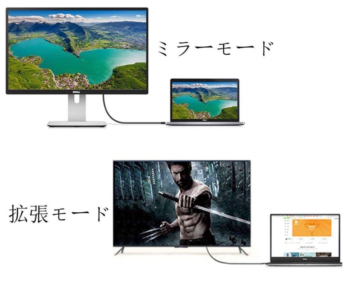 xianglicky DP to DVI 変換 ケーブル、1.6m 内蔵ICチップセットケーブル、ビデオ1080P フルHD対応